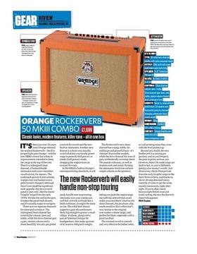 Orange Rockerverb 50 MkIII Combo