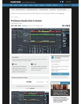 PreSonus Studio One 3