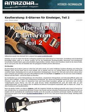 Kaufberatung: E-Gitarren für Einsteiger, Teil 2