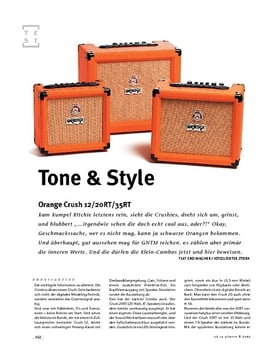 Orange Crush 12/20RT/35RT, Gitarren-Combos