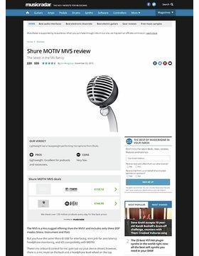 Shure MOTIV MV5
