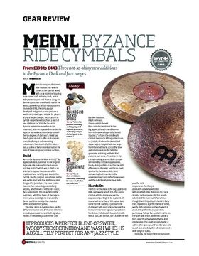 Meinl Byzance Ride Cymbals