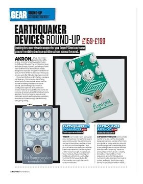 Earthquaker Devices Round-Up