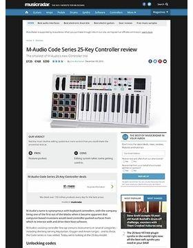 M-Audio Code Series 25-Key Controller