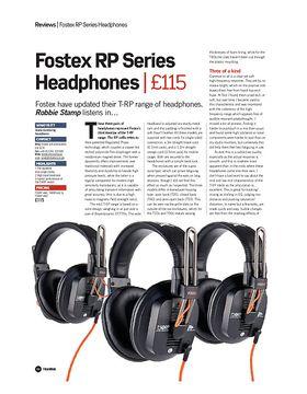 Fostex RP Series Headphones