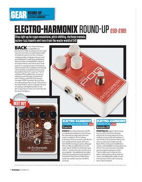 Electro-Harmonix C9, Nano POG, Octavix and Super Pulsar