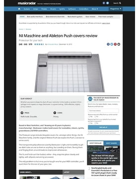 Decksaver Maschine and Ableton Push covers