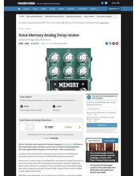Xvive Memory Analog Delay
