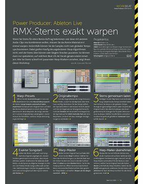 Ableton Live - RMX-Stems exakt warpen