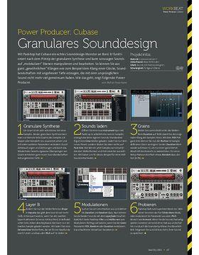 Cubase - Granulares Sounddesign