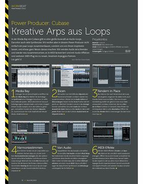 Cubase - Kreative Arps aus Loops