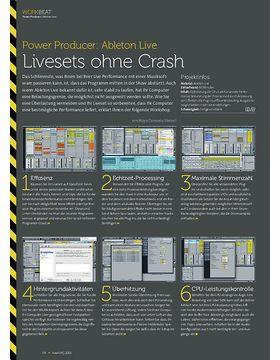 Ableton Live - Livesets ohne Crash