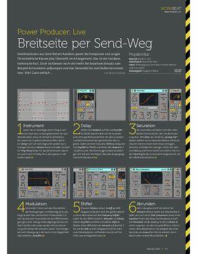 Ableton Live - Breitseite per Send-Weg