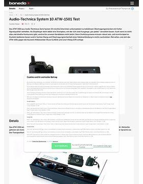 Audio-Technica System 10 ATW-1501