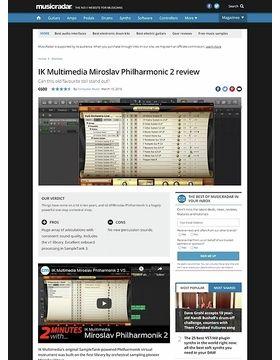 IK Multimedia Miroslav Philharmonic 2