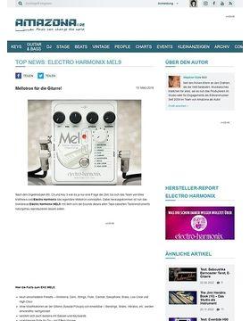 TOP NEWS: Electro Harmonix MEL9