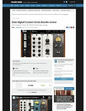 Slate Digital Custom Series Bundle