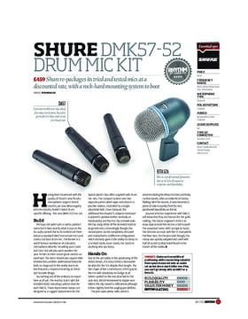 Shure DMK57 52 Drum Mic Kit