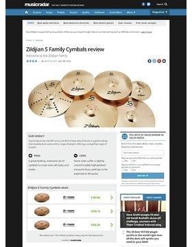 Zildjian S Family Cymbals