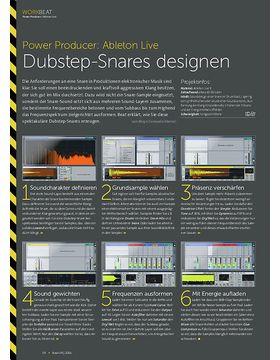 Power Producer: Dubstep-Snares designen