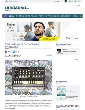 Test: Korg Volca FM, FM-Desktop-Synthesizer