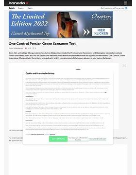 Persian Green Screamer Overdr.