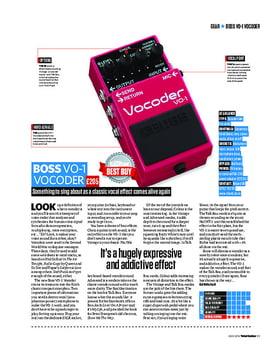 Boss V0-1 Vocoder