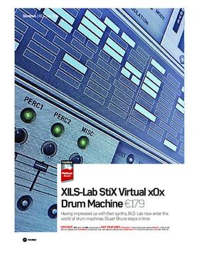 XIlS-Lab StiX Virtual x0x Drum Machine