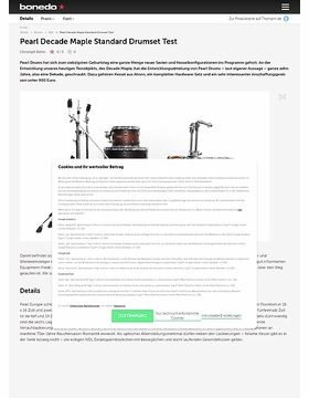 Pearl Decade Maple Standard