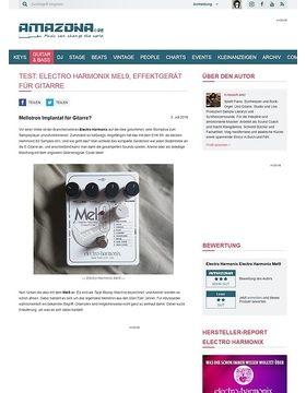 Test: Electro Harmonix Mel9, Effektgerät für Gitarre