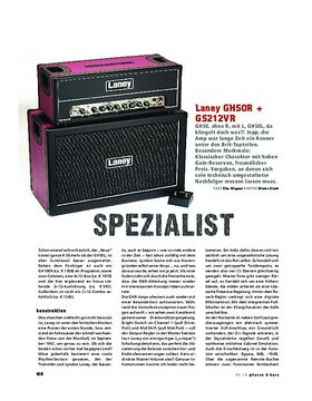 Laney GH50R + Cab, Tube-Stack
