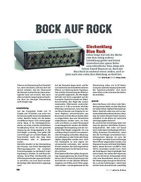 Glockenklang Blue Rock, Bass-Head