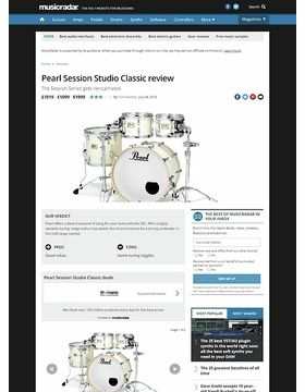 Pearl Session Studio Classic