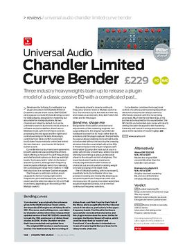Universal Audio Chandler Limited Curve Bender