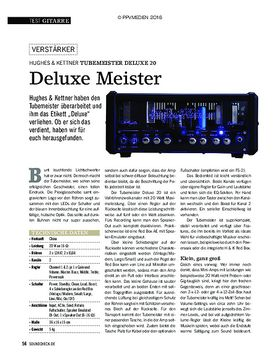 Hughes & Kettner Tubemeister Deluxe 20
