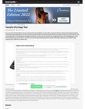 Yamaha Montage