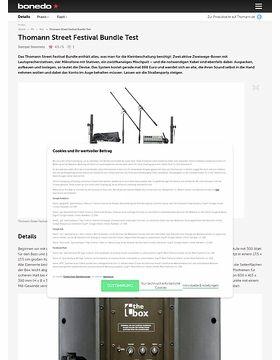 Thomann Street Festival Bundle