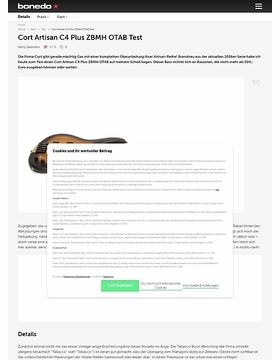 Cort Artisan C4 Plus ZBMH OTAB