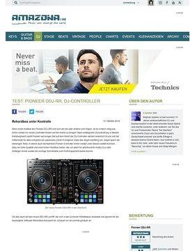 Test: Pioneer DDJ-RR, DJ-Controller