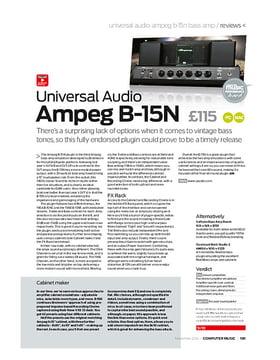 Universal Audio Ampeg B-15N