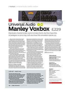 Universal Audio Manley Voxbox