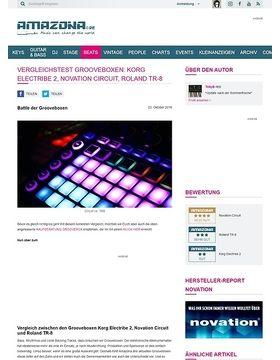 Vergleichstest Grooveboxen: Korg electribe, Novation Circuit, Roland TR-8
