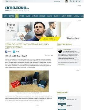 Vergleichstest Phono-Preamps / Phono-Vorverstärker