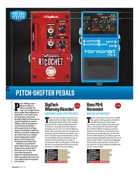 Pitchshifter Pedals
