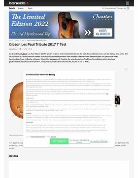 Gibson Les Paul Tribute T 2017