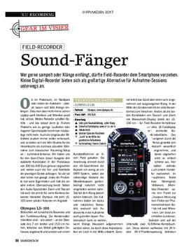 Gear im Visier: Sound-Fänger