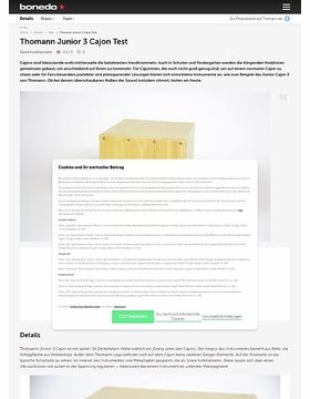 Thomann Junior 3 Cajon