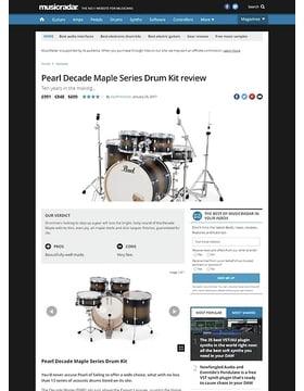Pearl Decade Maple Series Drum Kit