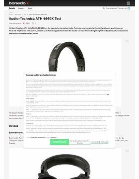 Audio-Technica ATH-M40X