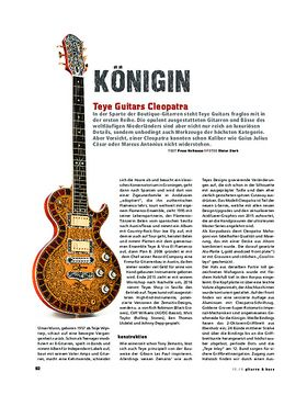 Teye Guitars Cleopatra
